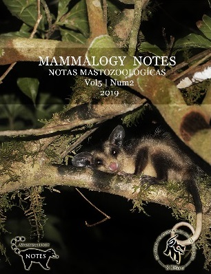 Mammalogy Notes. Vol 5 Num 2. 2019